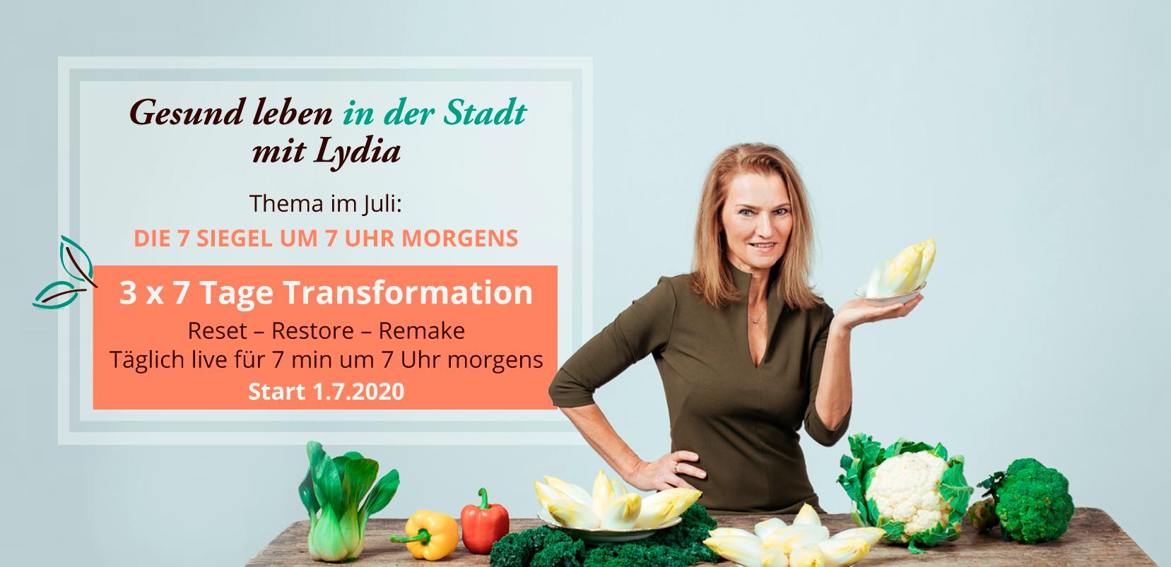 ydia Fillbach - Start der Neustart-Challenge am 1.7.2020