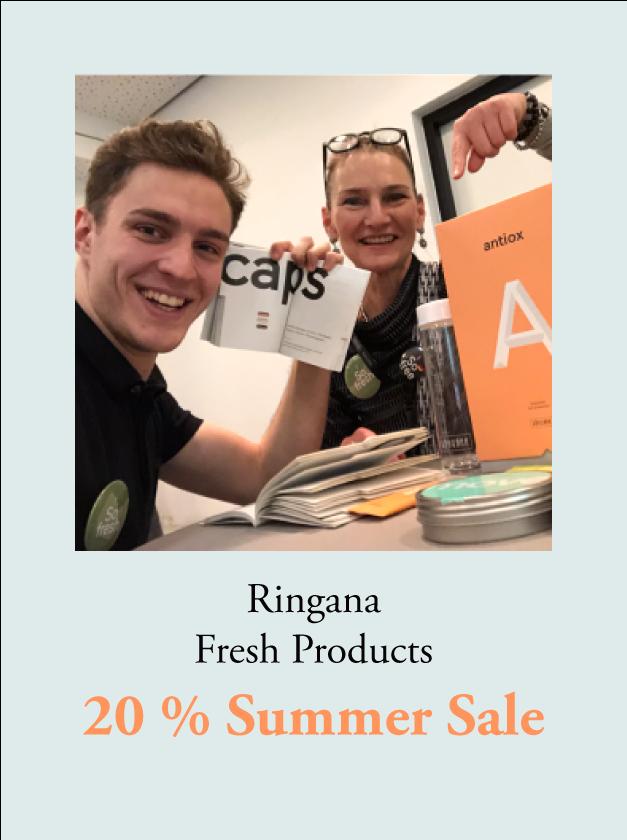Ringana Fresh Products - 20 % Summer Sale