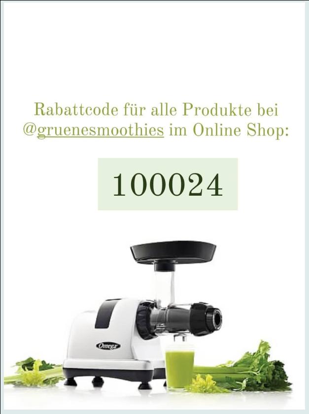 Slow Juicer - Rabattcode 100024