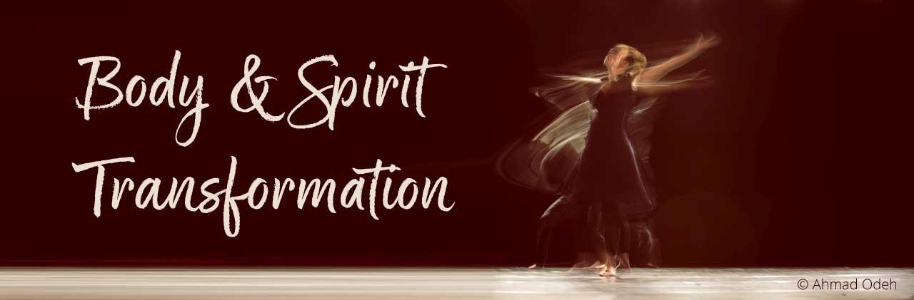 Body & Spirit Transformation - tanzende Person